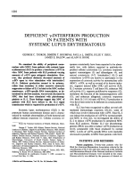 Deficient ╨Ю╤Ц-interferon production in patients with systemic lupus erythematosus.