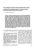 Does cartilage compliance reduce skeletal impact loads. the relative force-attenuating properties of articular cartilage synovial fluid periarticular soft tissues and bone