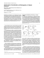Enantioselective Hydrosilylation and Hydrogenation of Alkaloid Precursors.