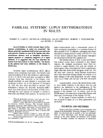 Familial systemic lupus erythematosus in males.
