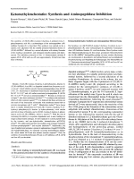 KetomethylenebestatinSynthesis and Aminopeptidase Inhibition.
