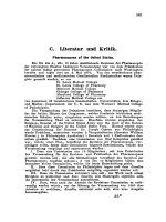 Literatur und Kritik. Pharmacopoea of the United States