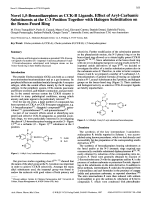 Novel 15-Benzodiazepines as CCK-B Ligands. Effect of Aryl-Carbamic Substituents at the C-3 Position Together with Halogen Substitution on the Benzo-Fused Ring