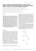 On the Concept of a Bivalent Pharmacophore for SKCa Channel BlockersSynthesis Pharmacological Testing and Radioligand Binding Studies on Mono- Bis- and Tris-quinolinium Compounds.
