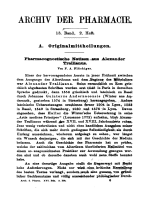 Pharmacognostische Notizen aus Alexander Trallianus.