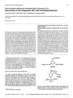 Platelet Aggregation Inhibiting and Anticoagulant Effects of Oligoamines XXVInteractions of the Oligoamine RE 1492 with Biomembranes.
