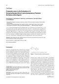 Preparation and in-vitro Evaluation of 4-Benzylsulfanylpyridine-2-carbohydrazides as Potential Antituberculosis Agents.
