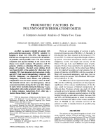 Prognostic factors in polymyositisdermatomyositis. A computer-assisted analysis of ninety-two cases