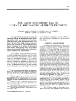 Sex ratio and sibship size in juvenile rheumatoid arthritis kindreds.