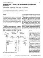 Studies in Sugar Chemistry VII1. Glucuronides of Podophyllum Derivatives