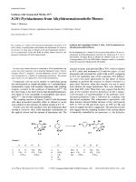 Syntheses with Unsaturated Nitriles IX32H-Pyridazinones from Alkylidenemalononitrile Dimers.