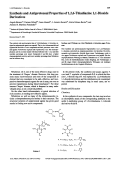 Synthesis and Antiprotozoal Properties of 126-Thiadiazine 11-Dioxide Derivatives.