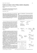 Synthesis and Antitumor Activity of Methoxy-indolo[21-a]isoquinolines.