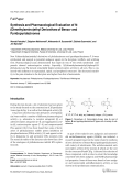 Synthesis and Pharmacological Evaluation of N-Dimethylaminoethyl Derivatives of Benzo- and Pyridopyridazinones.