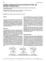 Synthesis Antitumoral and Antiviral Evaluation of Halo- and Demethyl-Yatein Derivatives.