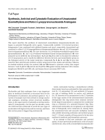 Synthesis Antiviral and Cytostatic Evaluation of Unsaturated Exomethylene and Keto span class=smallCapsDspan-Lyxopyranonucleoside Analogues.