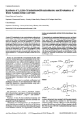 Synthesis of 1256-Trisubstituted Benzimidazoles and Evaluation of Their Antimicrobial Activities.