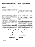 Synthesis of Meso- and Racemic 13-Diamino-13-diphenylpropanes.