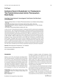 Synthesis of Novel 25-Disubstituted 134-Thiadiazoles for Their Potential Anticonvulsant ActivityPharmacophoric Model Studies.