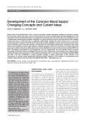 Development of the coronary blood supplyChanging concepts and current ideas.