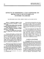 Effects of Peripheral Cold Exposure on Microvascular Dynamics in Systemic Sclerosis.