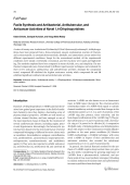 Facile Synthesis and Antibacterial Antitubercular and Anticancer Activities of Novel 14-Dihydropyridines.