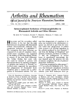 Intracytoplasmic inclusions of immunoglobulins in rheumatoid arthritis and other diseases.