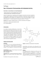 New 1H-Pyrazole-4-Carboxamides with Antiplatelet Activity.