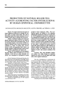 Production of natural killer cell activity-augmenting factor interleukin-6 by human epiphyseal chondrocytes.