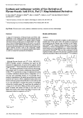 Synthesis and Antitumour Activity of New Derivatives of Flavone-8-acetic Acid FAA. Part 2Ring-Substituted Derivatives
