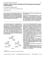 Synthesis of the Preininger-Alkaloid and its Enantioselective Reduction to Macrostomine.