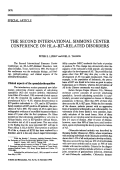 The second international simmons center conference on HLA-B27-related disorders.