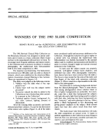 Winners of the 1983 slide competition.