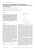 New Antifolate 44 В╨Ж-Diaminodiphenyl Sulfone Substituted 24-Diamino-5-benzylpyrimidines. Proof of Their Dual Mode of Action and Autosynergism