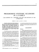 Progressive systemic sclerosis in a family.