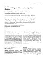 Synthesis and Biological Activities of 24-Diaminopteridine Derivatives.