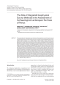 The role of integrated geophysical survey methods in the assessment of archaeological landscapesthe case of Portus.