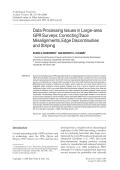 Data processing issues in large-area GPR surveyscorrecting trace misalignments edge discontinuities and striping.