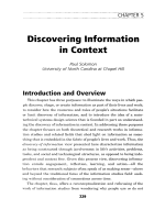Discovering information in context.