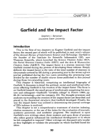 Garfield and the impact factor.