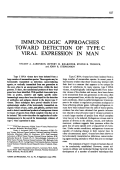 Immunologic approaches toward detection of type C viral expression in man.