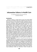 Information failures in health care.