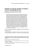 Mediation of ecdysone synthesis in Manduca sexta by a hemolymph enzyme.