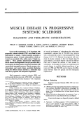 Muscle disease in progressive systemic sclerosis. diagnostic and therapeutic considerations