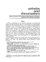 Nineteenth rheumatism review. Continue in part-II