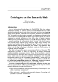 Ontologies on the Semantic Web.