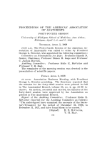 Proceedings of the american association of anatomists forty-fourth session.