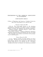 Proceedings of the American Association of Anatomists. College of physicians and surgeons  Columbia University  New York City  March 24  25  and 26  1932