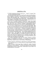 Proceedings of the American Society of Zoologists. Abstracts
