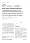 Pyrazolo[34-d]pyrimidine Derivatives as COX-2 Selective InhibitorsSynthesis and Molecular Modelling Studies.